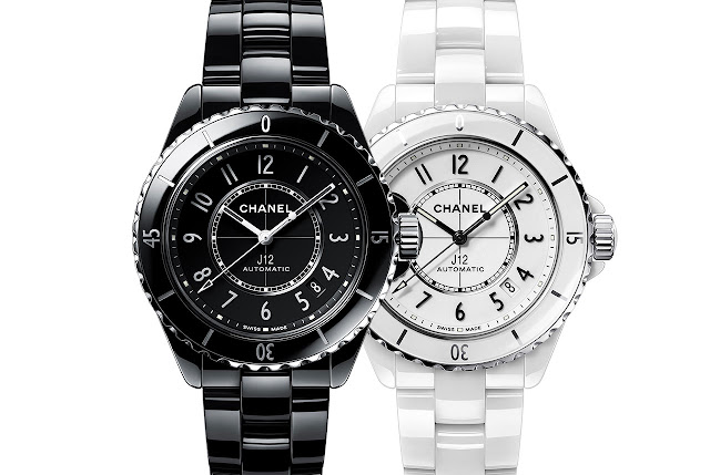 Chanel J12 Watch Black and White