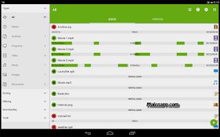 تطبيق لتحميل و تسريع الملفات للاندوريد Advanced Download Manager Pro مدفوع (مجانا)