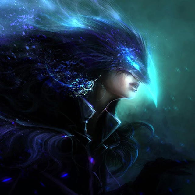 The Goddess of Darkness Fenteji Wallpaper Engine