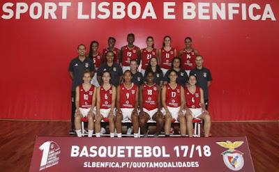 Benfica Modalidades Femininas Basquetebol