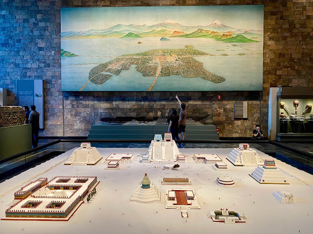 Tenochtitlan exhibit, National Museum of Anthropology, Mexico City, Mexico