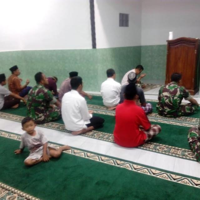 Ibadah Koramil 12 Manisrenggo Bersama Masyarakat