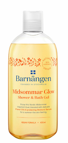 Barnangen Gel de dus si baie Barnangen Nordic Rituals Midsommar Glow, 400 ml