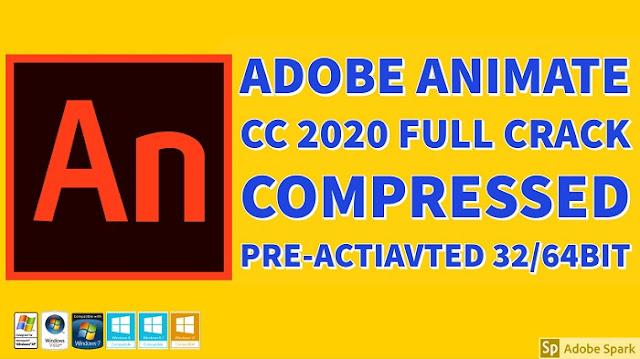 Adobe Animate CC 2020 Full Crack Compressed Preactivated