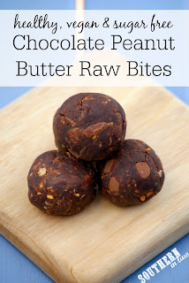 Healthy Chocolate Peanut Butter Brownie Bliss Balls Recipe