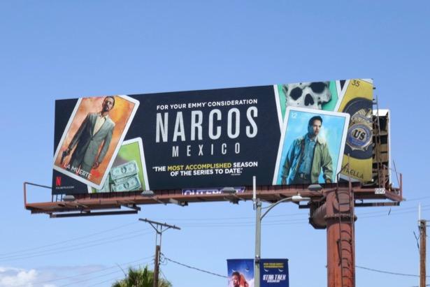 Narcos Mexico Emmy FYC billboard
