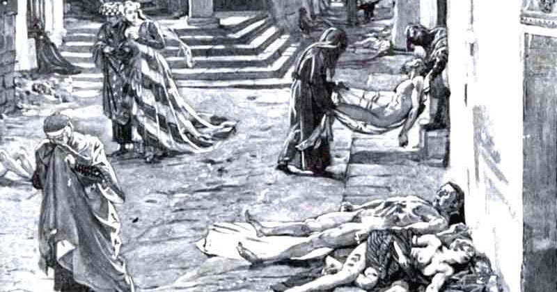 the death of sarah and the black plague Life during the black death was extremely unpleasant if you didn't die from the horrible symptoms of the disease, then starving to death was a likely possib.