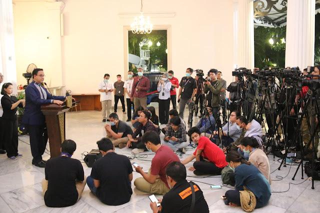 Anies Tetapkan Jakarta Berstatus Tanggap Darurat Bencana Covid 19