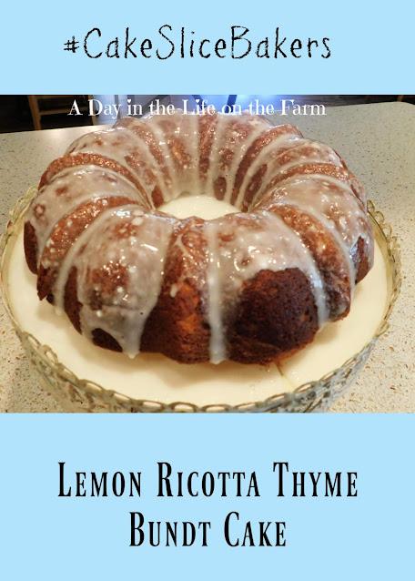 Lemon Ricotta and Thyme Bundt
