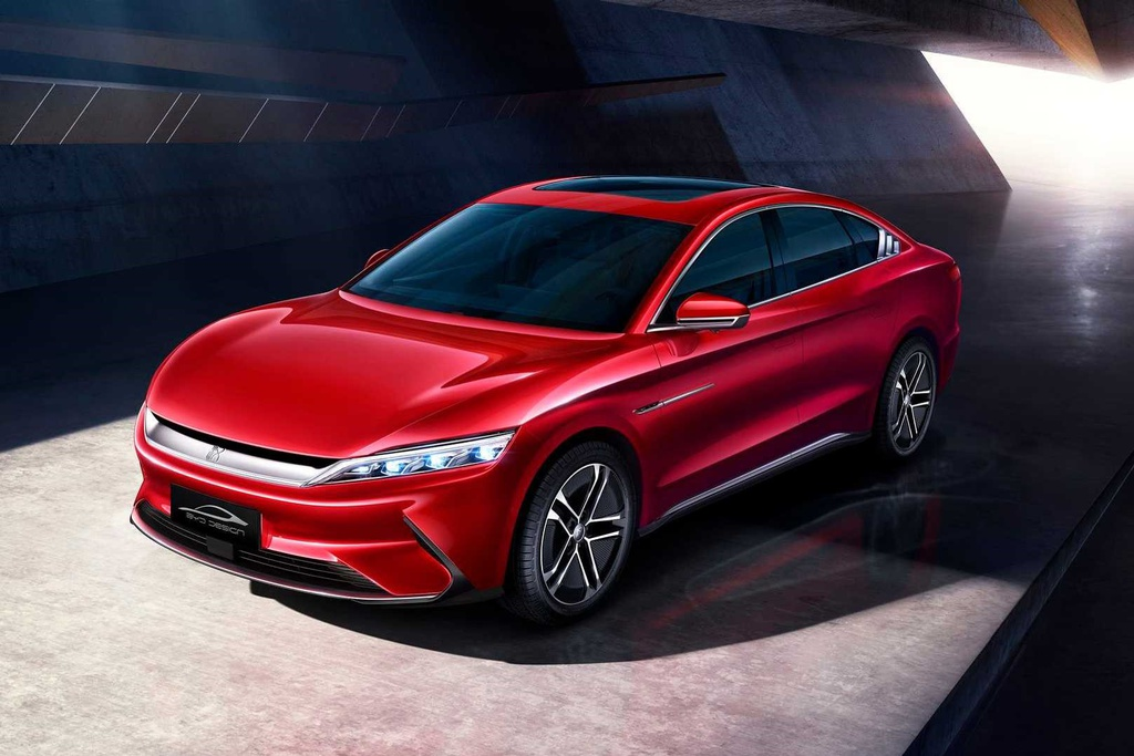 BYD Han ra mắt - xe điện Trung Quốc tăng tốc như xe thể thao