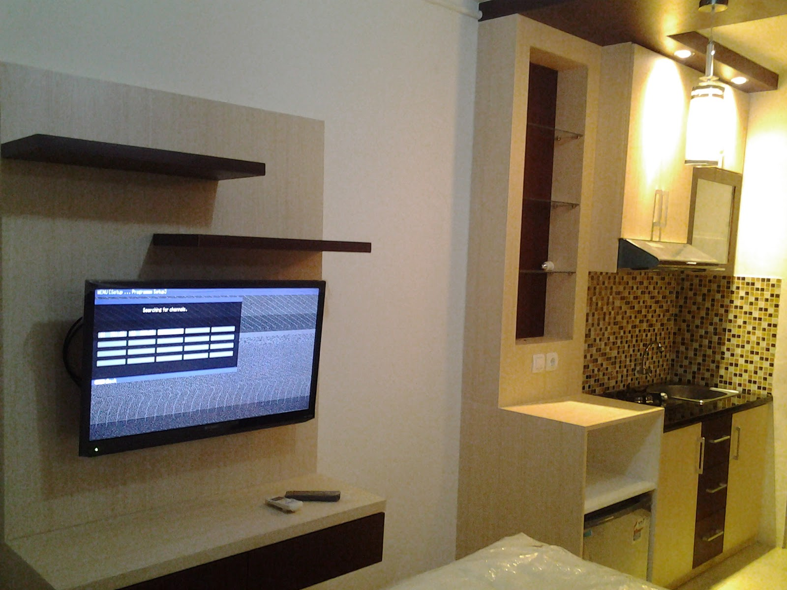 Interior Apartemen Depok Park View Type Studio INFINITY INTERIOR