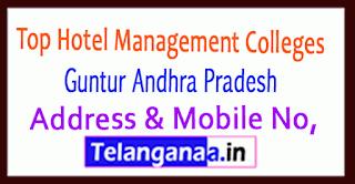Top Hotel Management Colleges in Guntur Andhra Pradesh