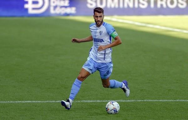 """Luis Muñoz - Málaga -: """"Para mí sería un orgullo y un reto poder jugar los play off de ascenso"""""""