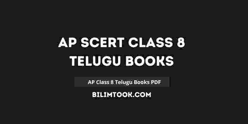 AP SCERT Class 8th Telugu Book PDF Download 2021
