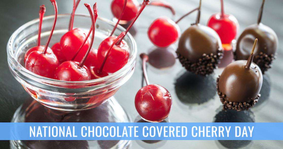 National Chocolate Covered Cherry Day Wishes Sweet Images