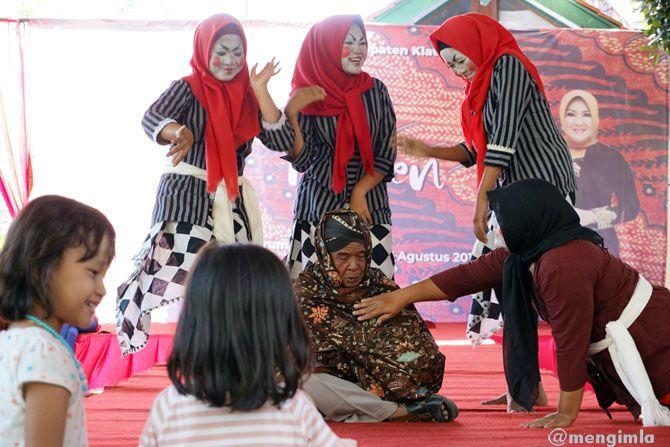 Model Klaten Mbiyen Jarum Batik Fest 2018