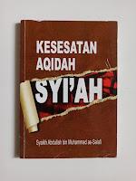 Informasi Buku Kesesatan Aqidah Syiah