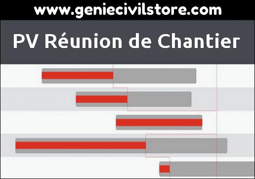 PV Réunion de Chantier PDF