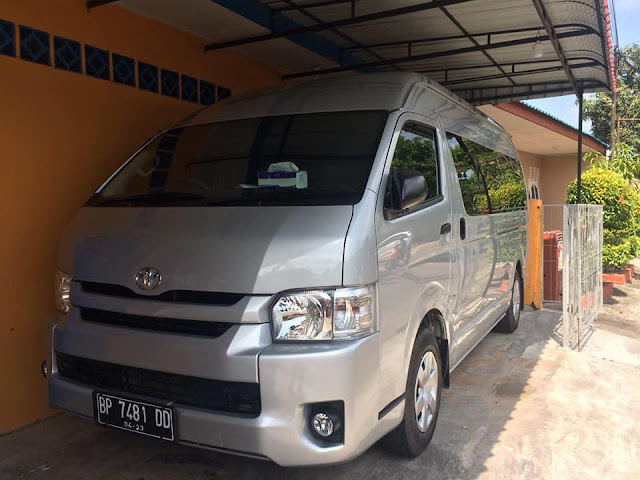 Rental Van Hiace 15 Seat Tanjung Pinang dan Bintan