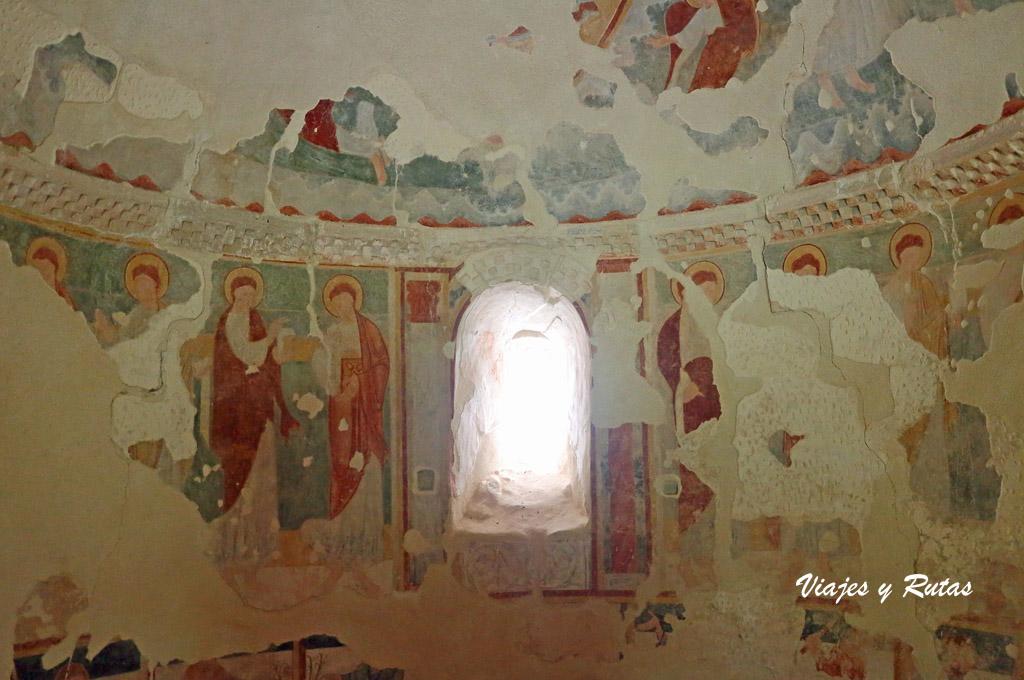 Pinturas de la ermita de San Pelayo, Perazancas de Ojeda