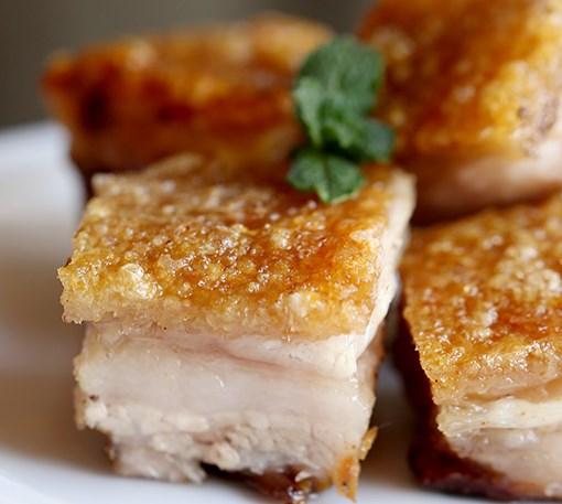 Crispy Pork Belly Recipe (Siu Yuk) #dinner #chinesefood