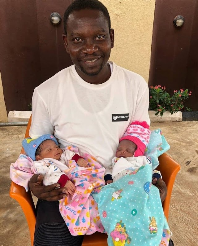 Nollywood actor Afeez Owo denies welcoming twins