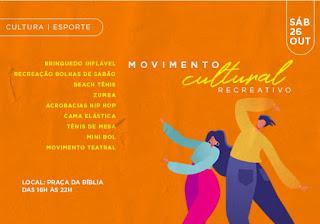 Movimento Cultural Recreativo em Cajati