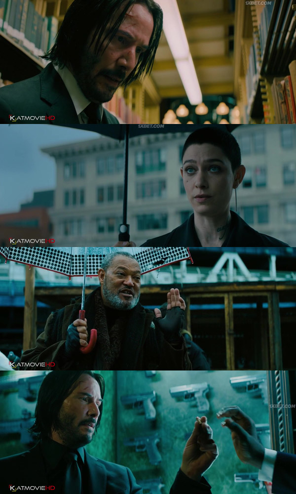 Download John Wick Chapter 3 Parabellum 2019 Unofficial Hindi Dubbed BluRay 720p 1GB movie