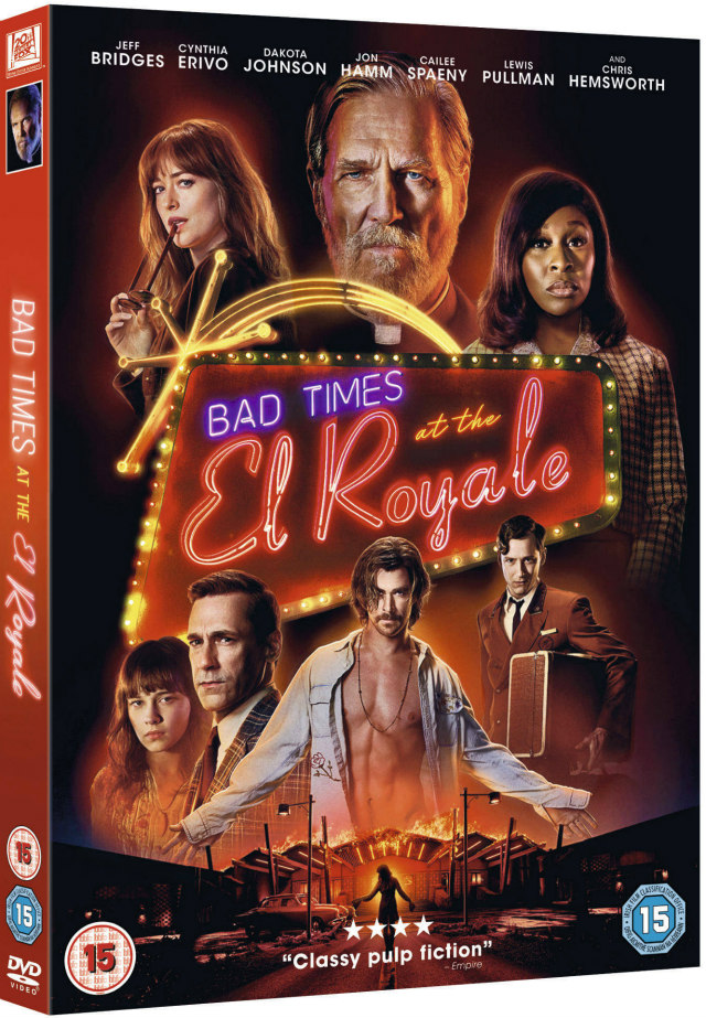 bad times at the el royale dvd