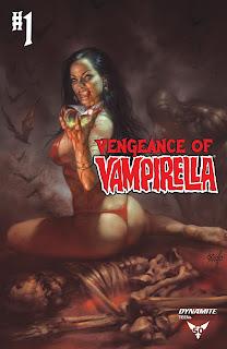 Cover D of Vengeance of Vampirella #1 by Lucio Parrillo