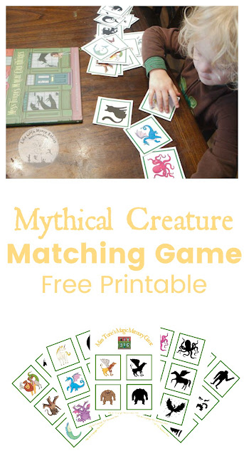 Discover Mythical Creatures with this Free Matching Game