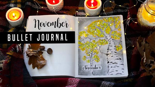 BULLET JOURNAL - NOVEMBER