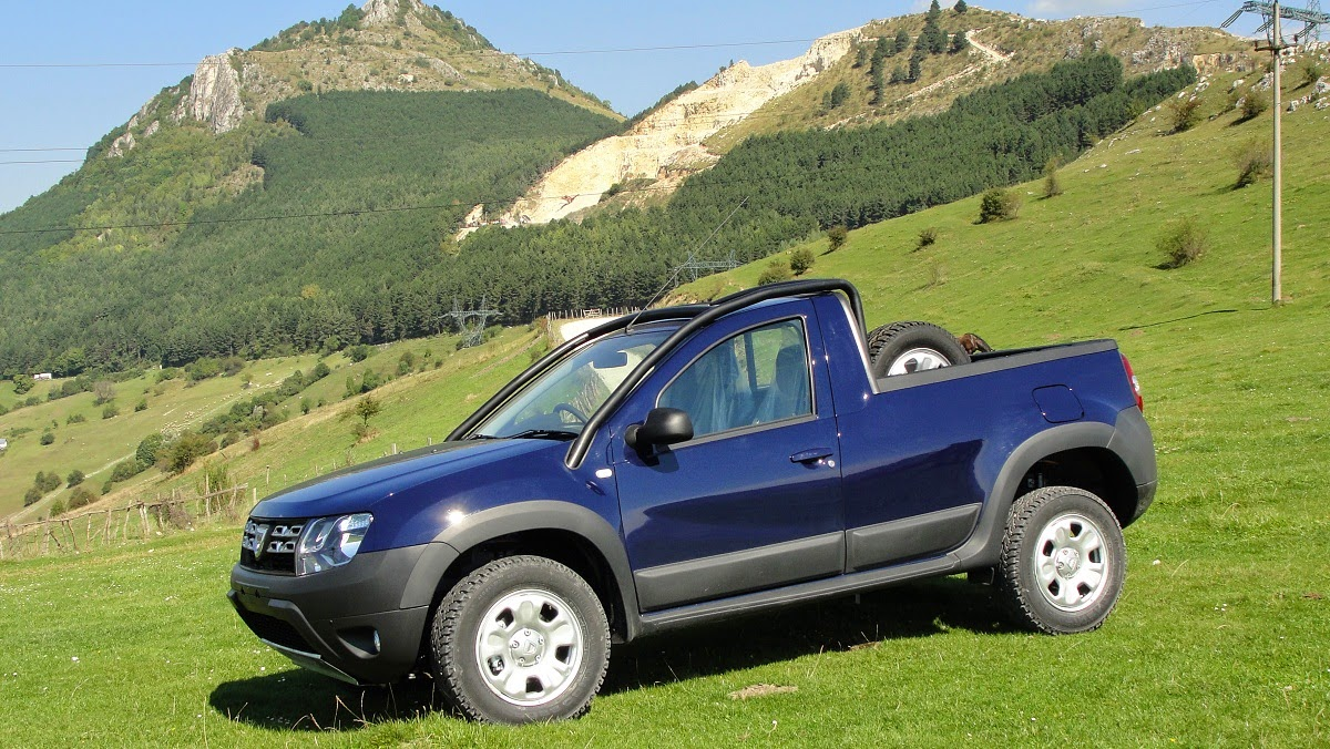 dacia duster pickup 4x4 1 5 dci 110 hp limited edition car reviews new car pictures for 2018. Black Bedroom Furniture Sets. Home Design Ideas