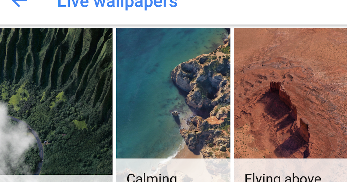 APK] Google Pixel 2 Live Wallpapers Working For Android 6 0+