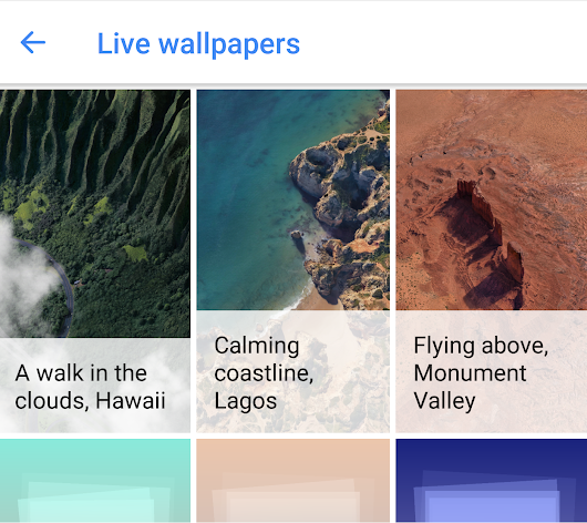 [APK] Google Pixel 2 Live Wallpapers Working For Android 6.0+ And Android 8.0
