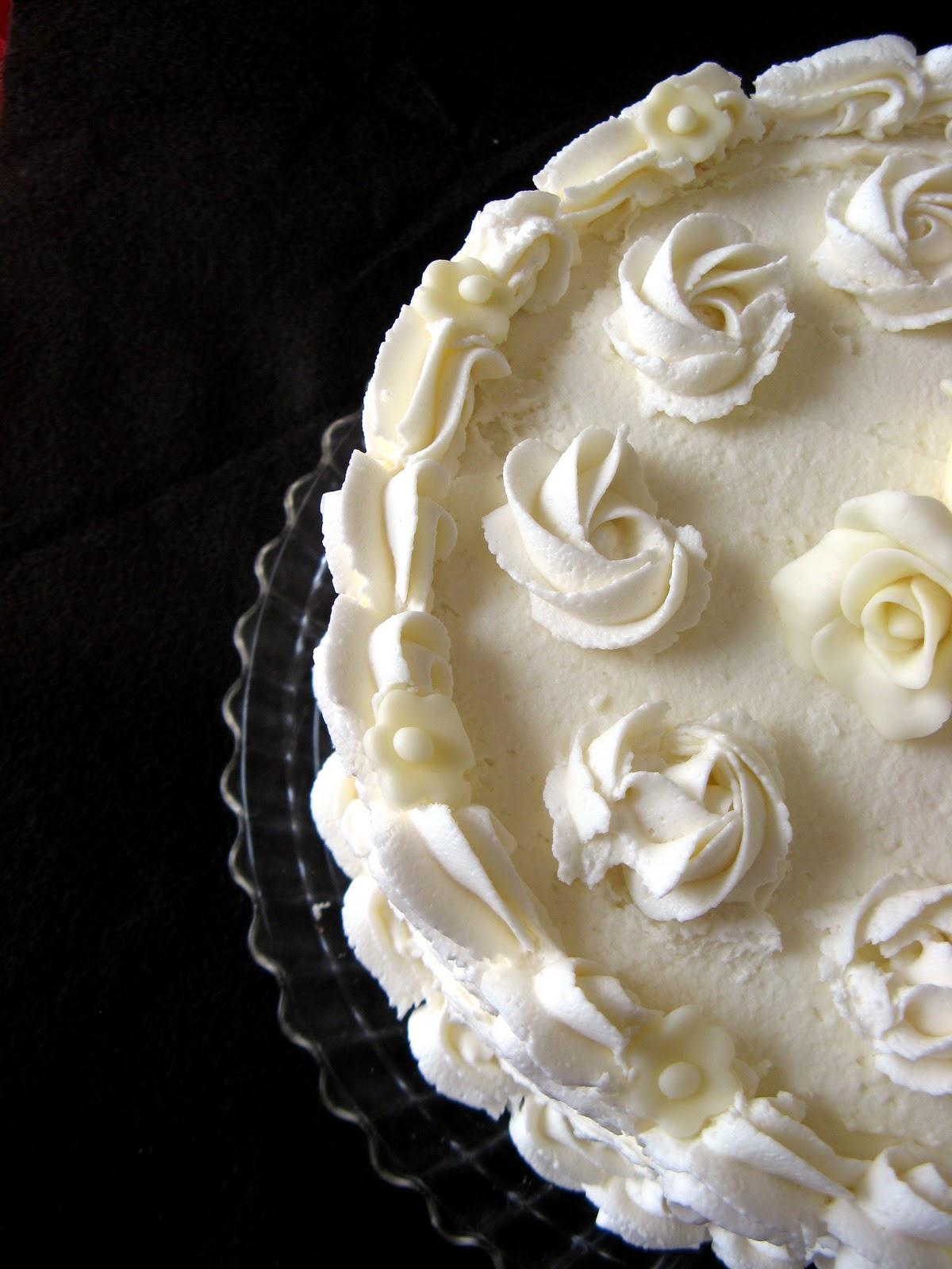 White Chocolate Cranberry Birthday Cake Crunchy Creamy Sweet