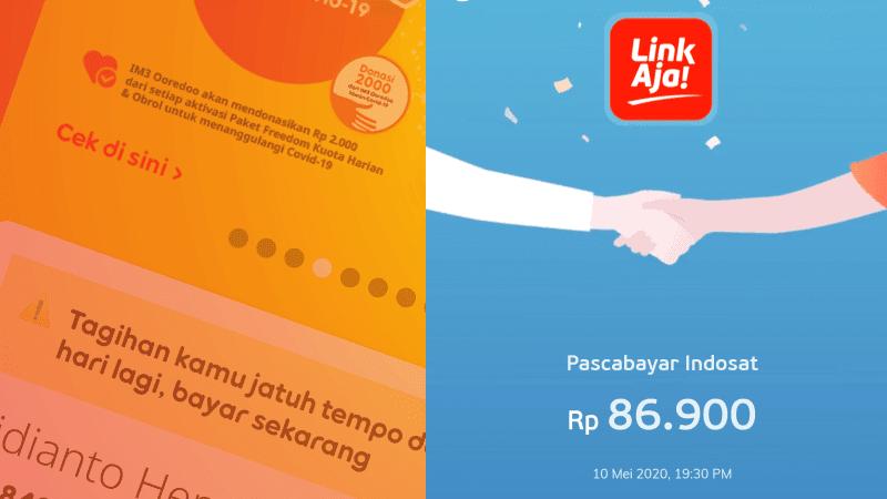 Tutorialengkap Cara Bayar Tagihan Pascabayar Indosat IM3 Melalui LinkAja