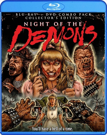 Night of the Demons 2 (1994) UNRATED Dual Audio Hindi 480p BluRay 300mb