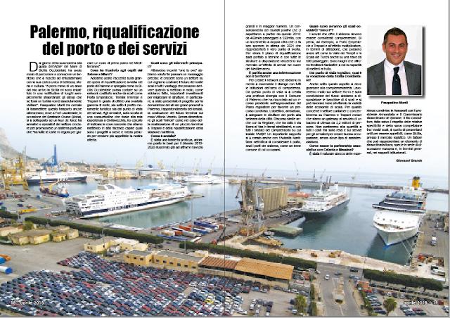 APRILE 2018 PAG. 18 - Palermo, riqualificazione del porto e dei servizi