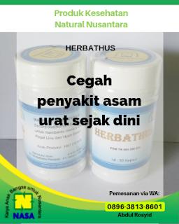 Herbathus Obat Asam Urat, Pegal Linu, Nyeri Sendi