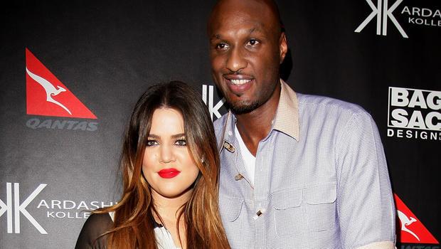Khloe Kardashian continua ao lado de Lamar Odom