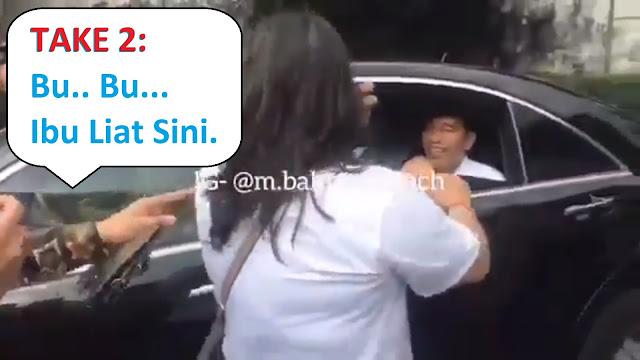Kubu Prabowo-Sandi Sindir Video Histeria Emak-emak Ke Jokowi