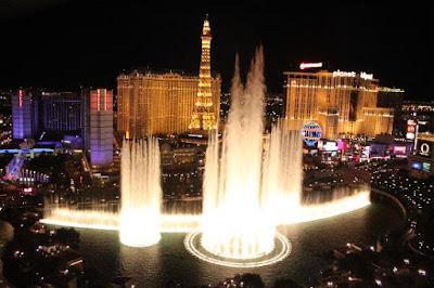 Bellagio Fountain, Las Vegas, Amerika Serikat