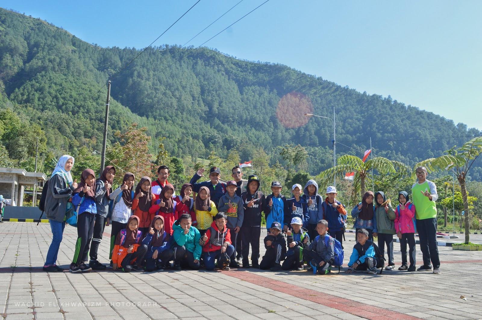 wisata alam telomoyo magelang jawa tengah Kegiatan Jeda Tengah Semester Di Gunung Telomoyo MI NEGERI