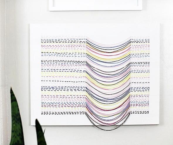arte casero manualidades, bordar lienzo, decoración hogar