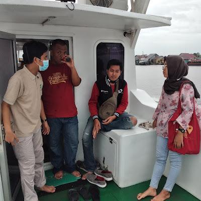 Tanya jawab dan diskusi bersama KBP dan Kordinator Kapal AMCF 03 Kalbar