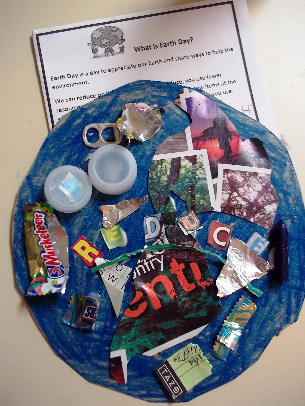 Sweet Tea Classroom R Is For Real Earth Day Recycled Craft