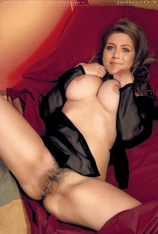 jennifer aniston naked with hairy pussy
