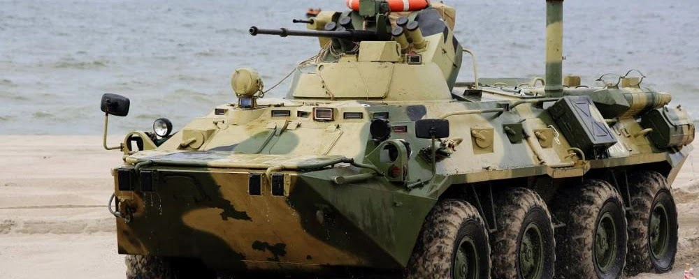 Морська піхота ЧФ РФ отримала 40 нових бронетранспортерів