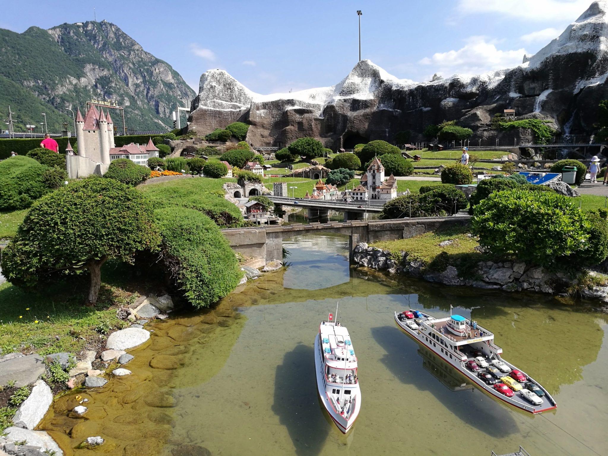 Парк: Швейцария в миниатюре в Лугано